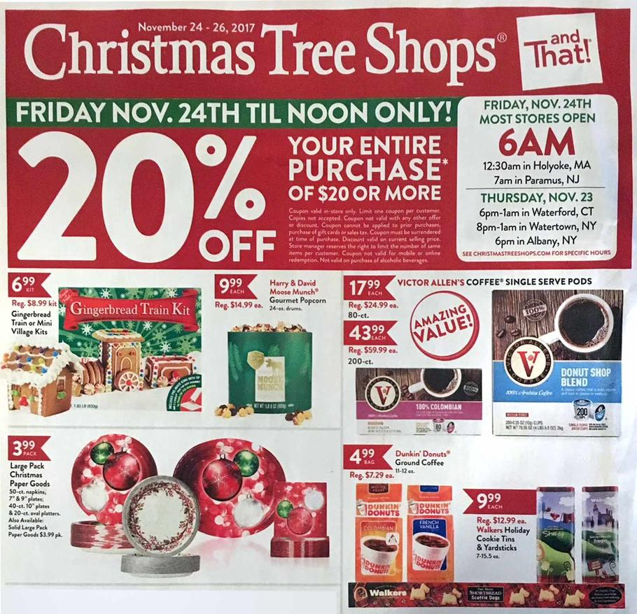 christmas tree shops black friday ad - Christmas Tree Shop Augusta Maine